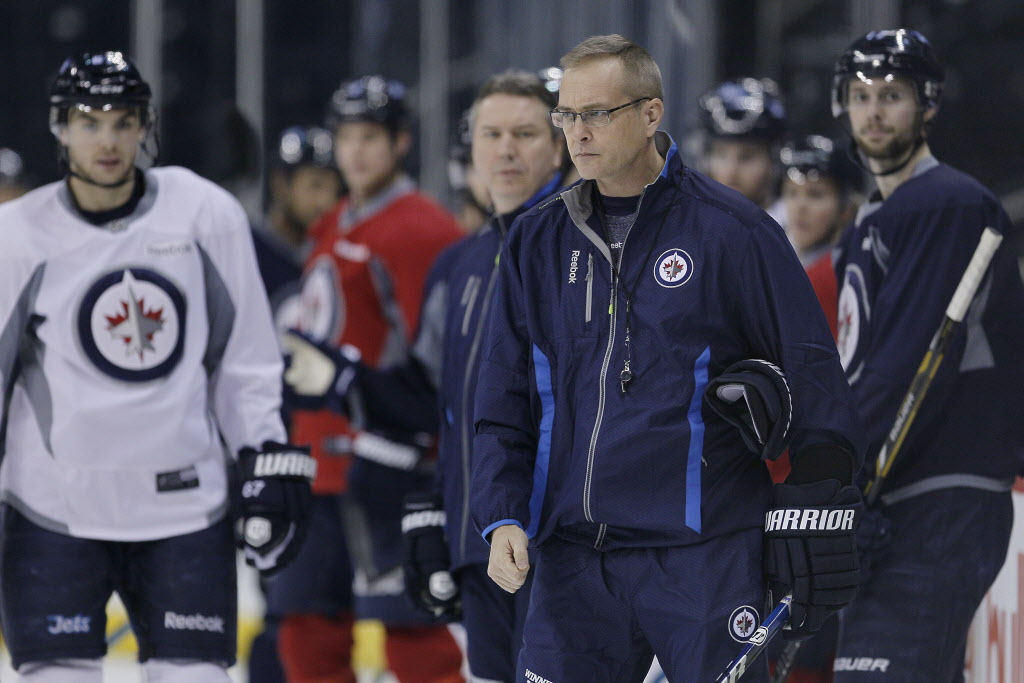 Jets Head Coach Paul Maurice
