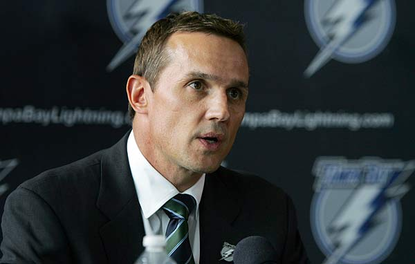 Tampa GM Steve Yzerman and his club were one of the big wingers in Free Agency